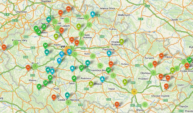 V Česku vznikla komunitní mapa, podporuje i kompostování