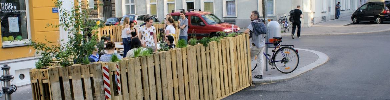 Zelené oázy oživují ulice Vídně, slouží jako místo k odpočinku i setkání s přáteli