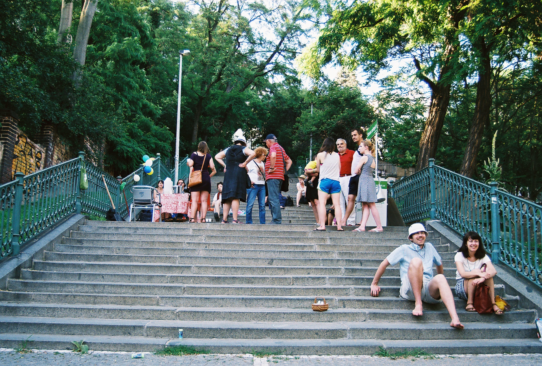 Přátelé Nuselských schodů oživují kouzelné pražské zákoutí