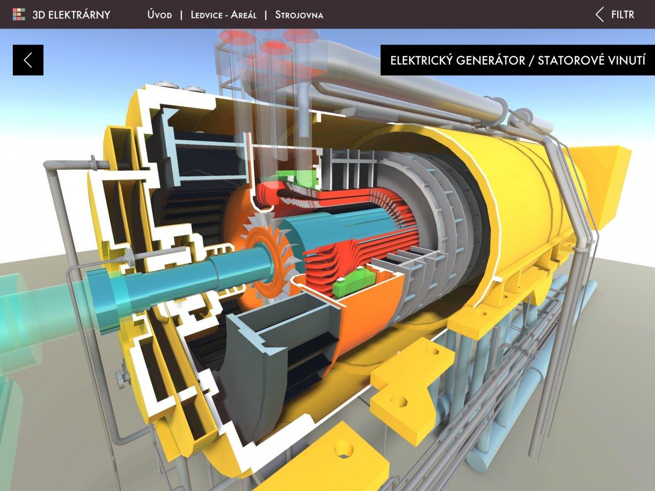 Poznejte principy jaderných elektráren díky 3D modelu