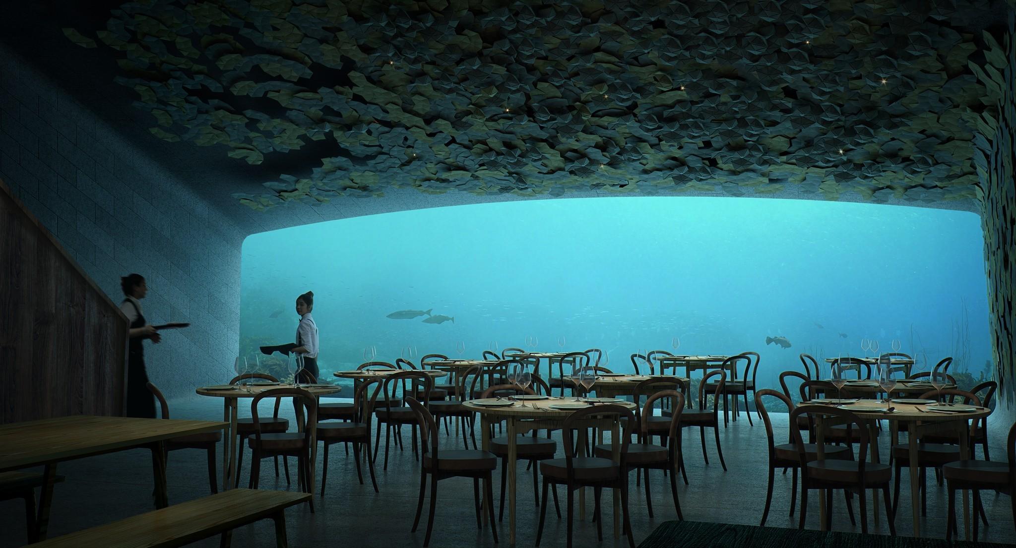V Norsku vznikne první evropská restaurace pod vodou