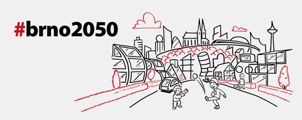 Brno představilo vizi pro rok 2050. Chce méně odpadu a více zeleně