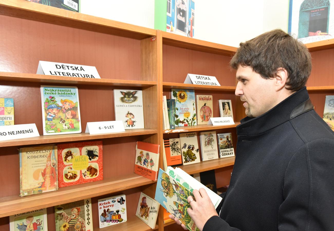V Brně začala sbírka knížek, pomůže i dětem v domovech