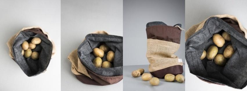 Pytlík na lepší uchovávání brambor pomůže proti plýtvání