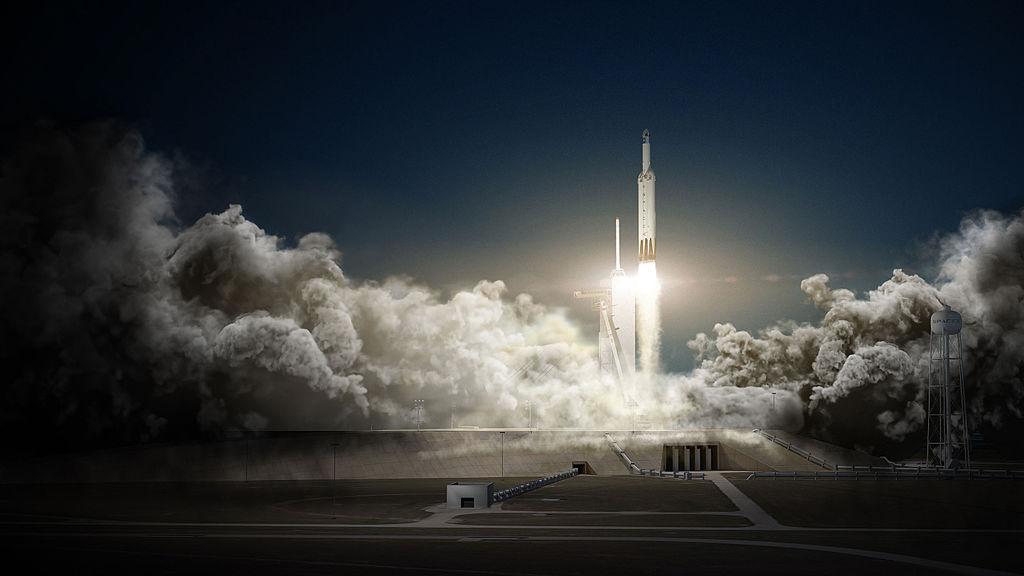 Na oběžnou dráhu Země se dostala nejtěžší raketa od dob Saturnu V