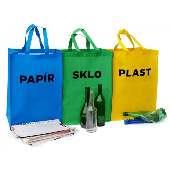 Prostějov věnuje svým občanům tašky na tříděný odpad