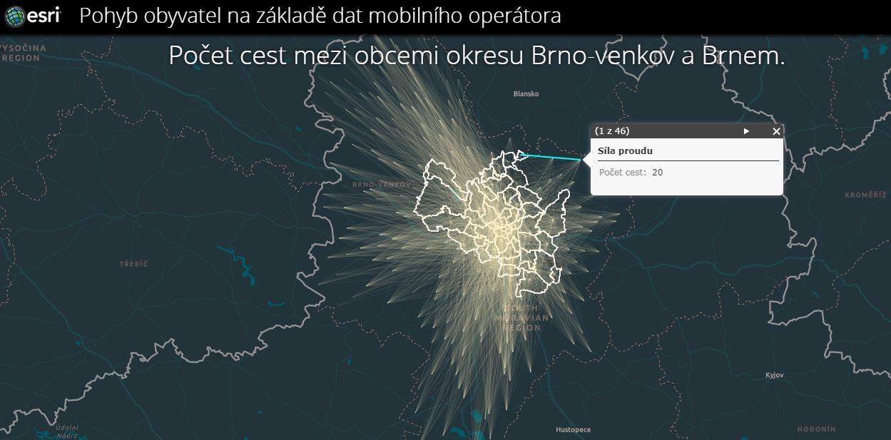 Webový portál nabízí sdílená data o Brně