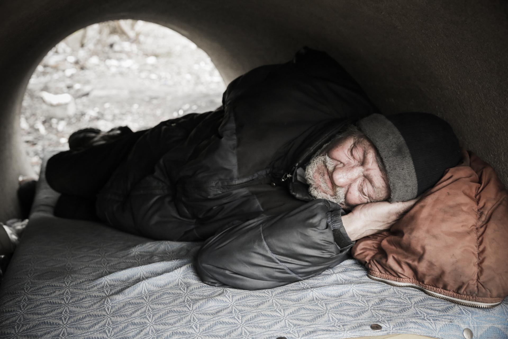 Češi projevili rekordní zájem o Nocleženky pro lidi bez domova