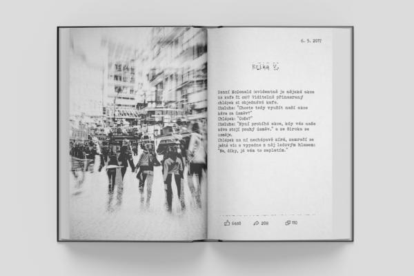 Odposlechnuto v Praze vyjde knižně, peníze z prodeje pomohou neslyšícím