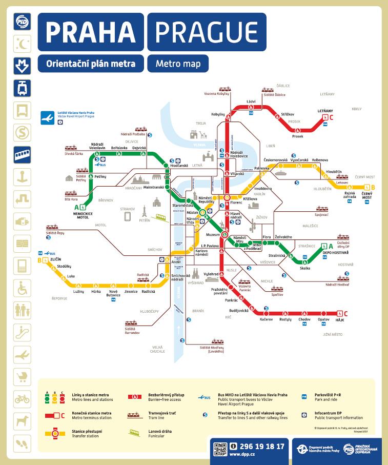 V pražském metru bude od podzimu dostupný mobilní signál i internet