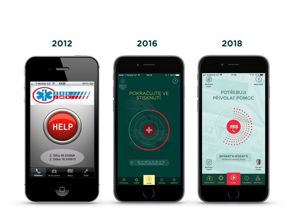 Češi si nově zavolají záchrannou službu pomocí aplikace i v Rakousku