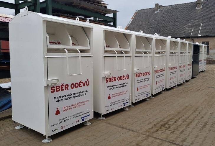 V Brně přibydou kontejnery na starý textil