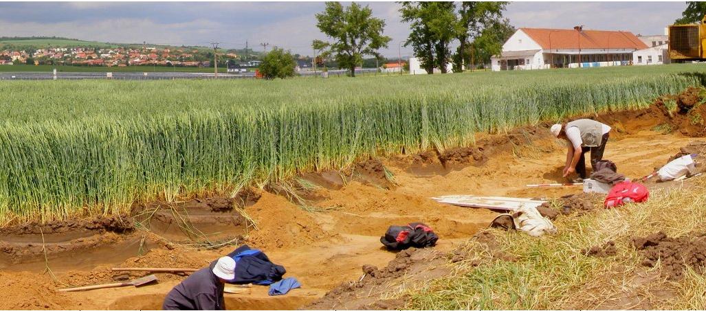 Archeologové objevili u Zlína ojedinělou sošku z pravěku