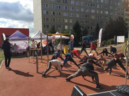 V Praze přibývají fitparky, lidem slouží ke sportu i setkávání