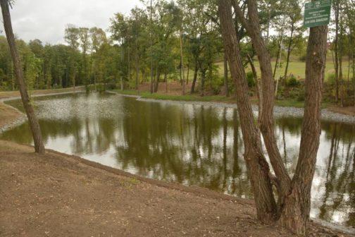 Místo skládky rybník. V Praze vybudovali novou nádrž Lipiny