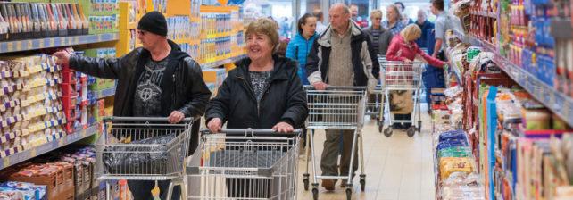 Aldi o Vánocích opět daruje přebytky místním charitám