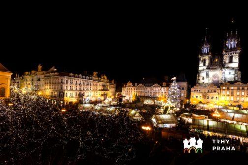 Vánoční trhy v Praze mají letos jen kompostovatelné nádobí
