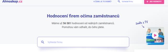 Atmoskop pomáhá Čechům vybrat si vhodného zaměstnavatele