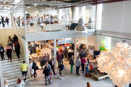 Ve Švédsku funguje obchodní centrum nabízející jen věci z druhé ruky