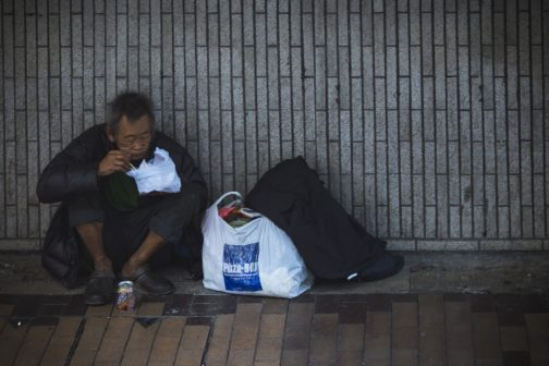 Američanka zachránila lidi bez domova před umrznutím