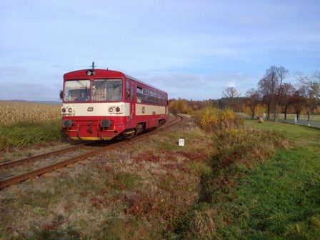 Nadšenci vrátili osobní vlaky do Týna nad Vltavou