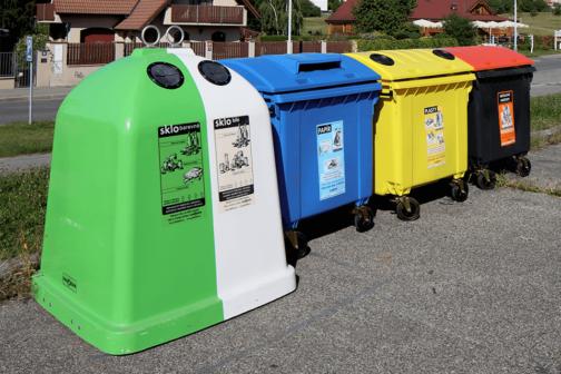 Odpad třídí čím dál více Čechů, roste i počet speciálních kontejnerů