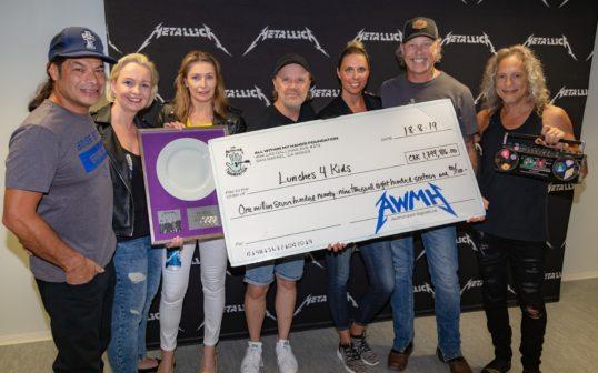Metallica darovala českým dětem vnouzi 72 tisíc obědů