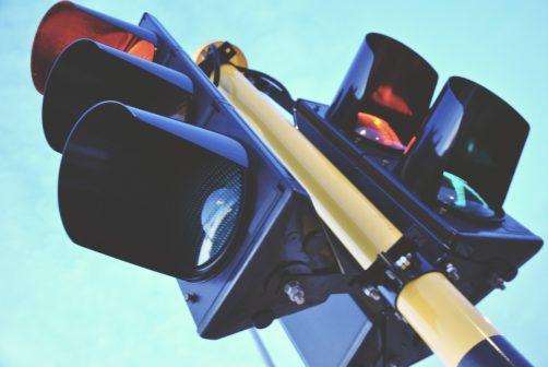 V Břeclavi testují blikající semafory. Mají zařídit bezpečnější křižovatky