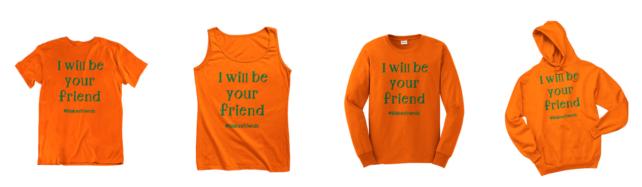 Šestiletý chlapec vybízí tričkem ke kamarádství. Inspiroval celý svět