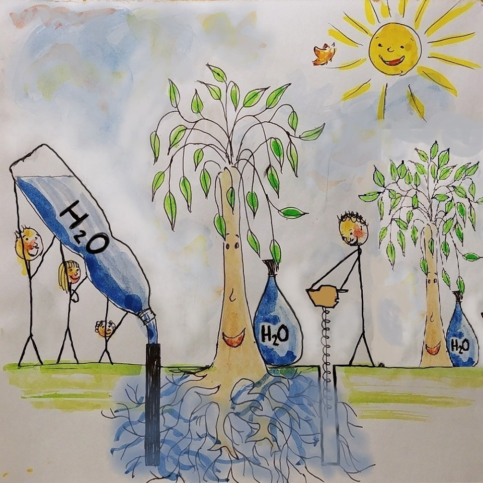 Ušetřete vodu a zalejte strom, vybízí projekt Zalejme