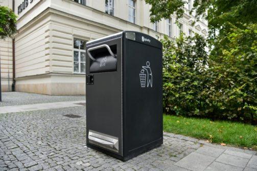 Ve Zlíně testují chytrý odpadkový koš, v plánu jsou i popelářské elektromobily