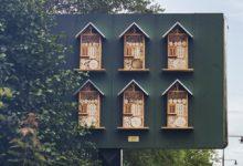 Švédský McDonald's povýšil své billboardy na včelí úly