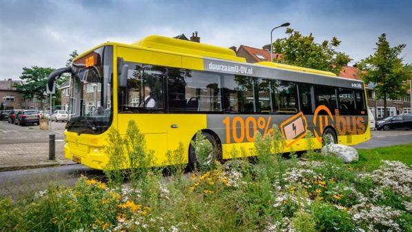Doprava v Utrechtu je zelená od autobusů až po zastávky