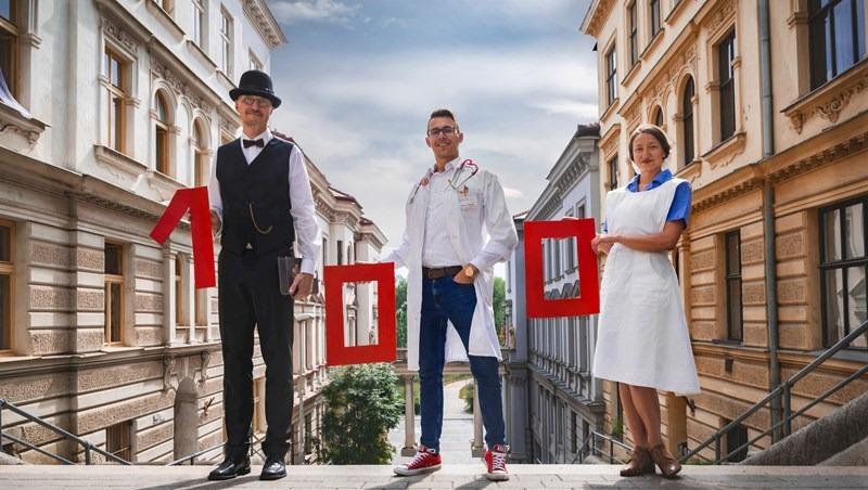 Masarykova univerzita své 100. výročí oslaví 100 litry darované krve