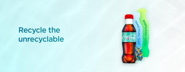 Coca-Cola vyvíjí láhev z plastového odpadu vyloveného z moře