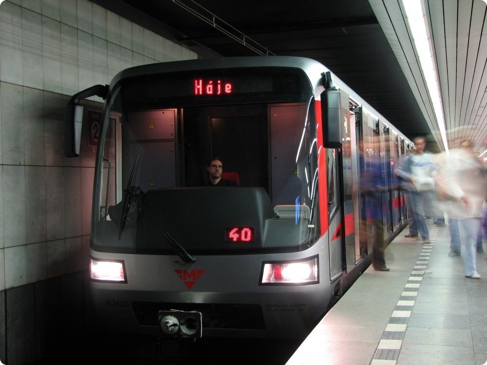 Síť LTE nově pokryje i pražské metro C od Muzea až po Nádraží Holešovice
