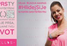 Kampaň #HlidejSiJe připomíná ženám důležitost samovyšetření prsu a učí, jak na něj