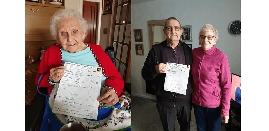 Angličanova instalatérská společnost pomáhá seniorům zdarma