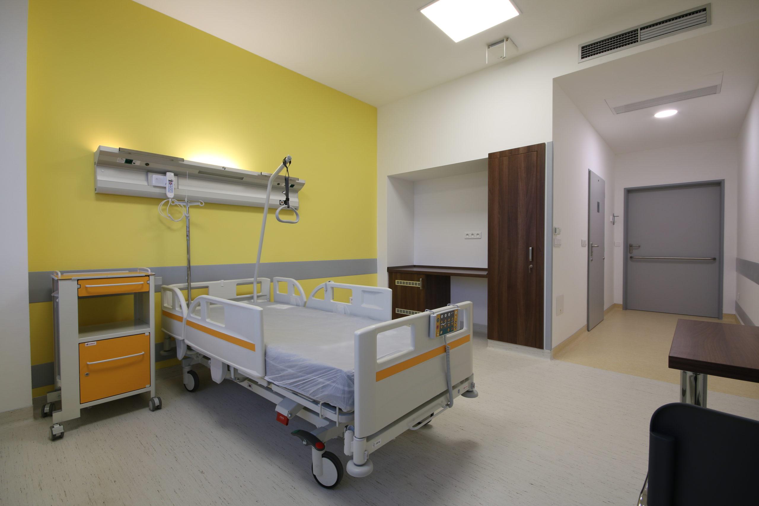 nemocniční pokooj, Zlín