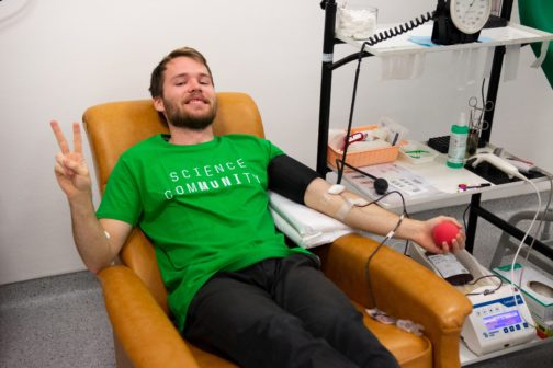 Díky Masarykově univerzitě lidé darovali téměř 273 litrů krve