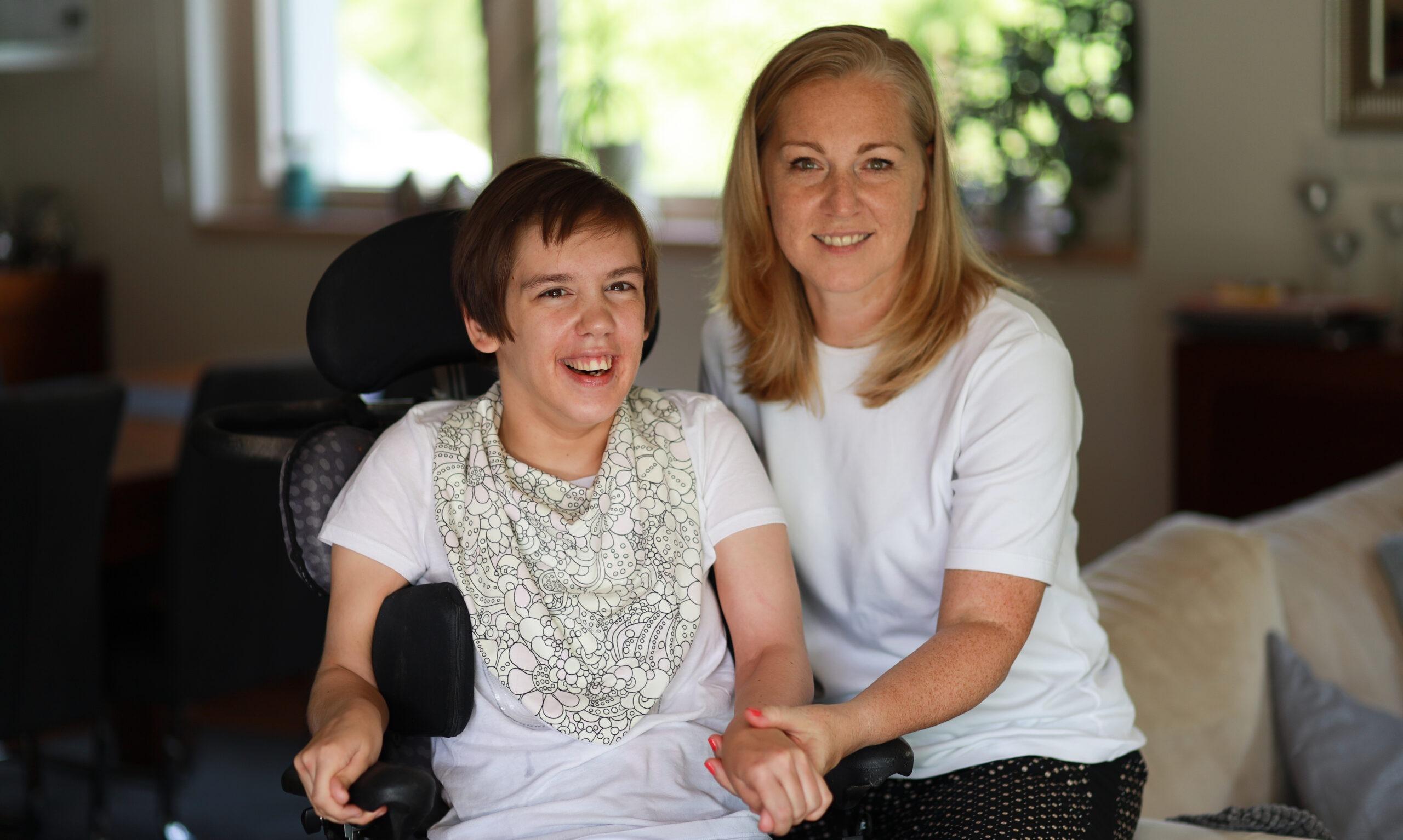 Optimismus mi pomáhá vyrovnat se s postižením dcery. Snažím se ho proto šířit dál, říká Eva Nemčková