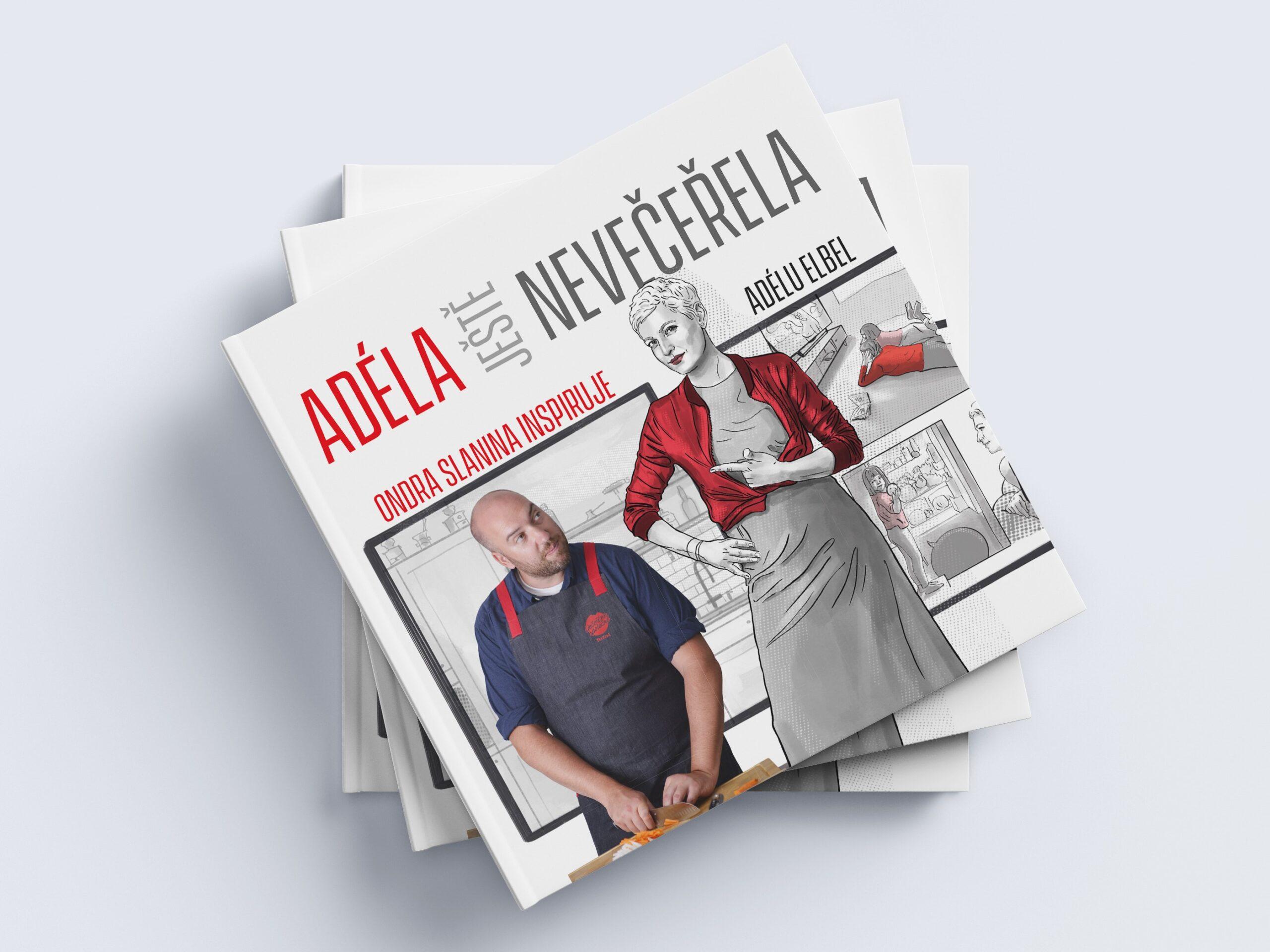 Vaření může být zábava pro celou rodinu. Ondra Slanina a Adéla Elbel v komiksové kuchařce radí, jak vařit rychle, poctivě a s úsměvem